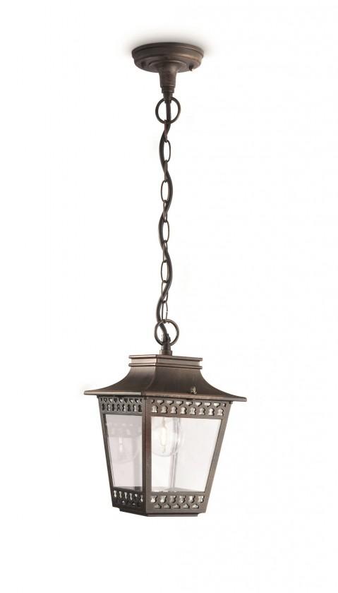 Mano - Venkovní osvětlení E 27, 18cm (rezavá)
