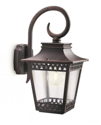 Mano - Venkovní osvětlení E 27, 18x36x23 (rezavá)