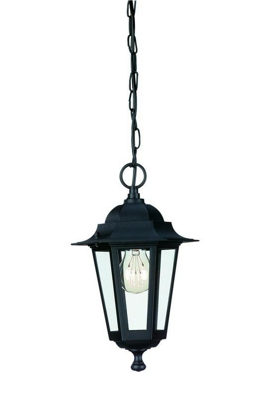 Mano - Venkovní osvětlení E 27, 20,5cm (černá)