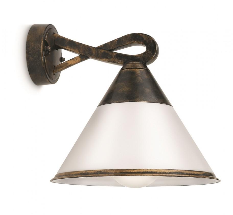 Mano - Venkovní osvětlení E 27, 23,5cm (hnědá s patinou)