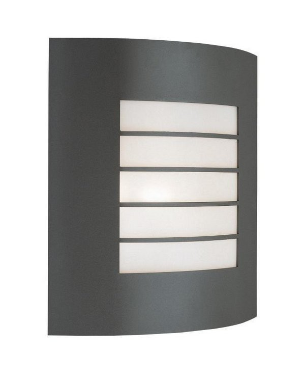 Mano - Venkovní osvětlení E 27, 23,5cm (metalická šedá)