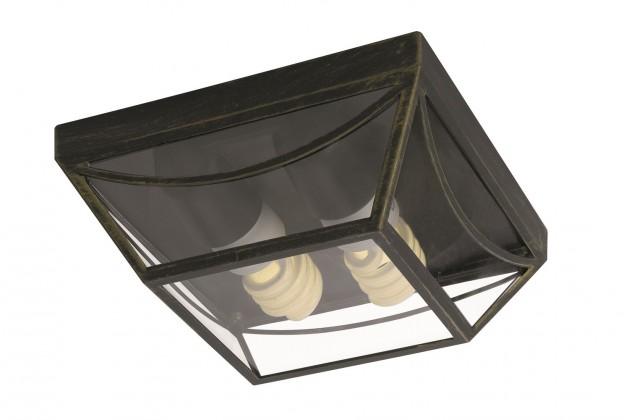 Mano - Venkovní osvětlení E 27, 23cm (zlatá patina)