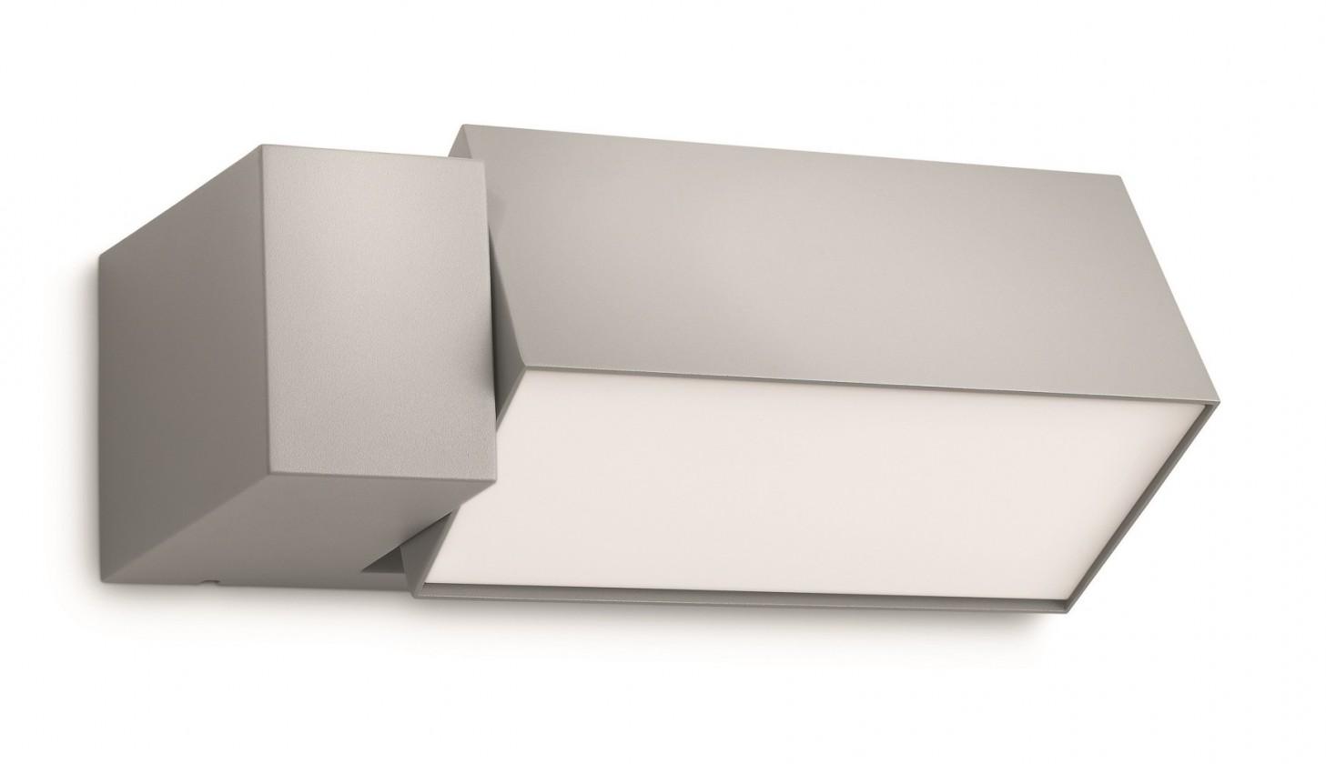 Mano - Venkovní osvětlení E 27, 26,9x9,3x14,8 (šedá)