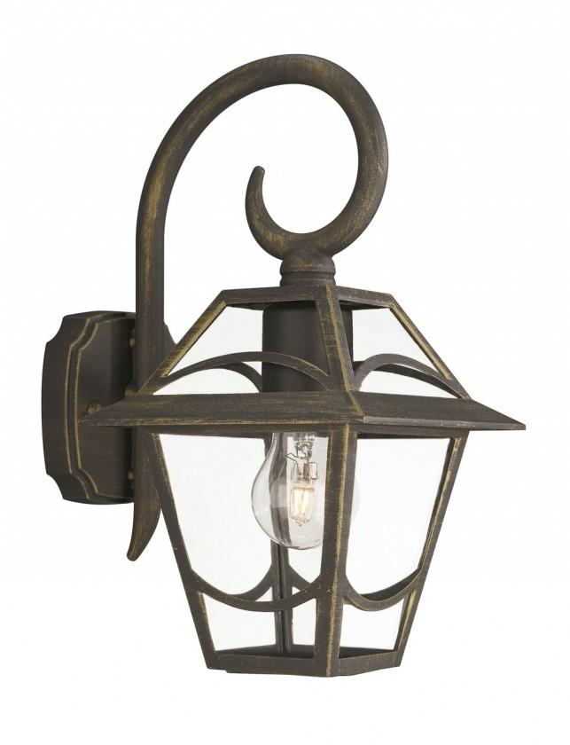 Mano - Venkovní osvětlení E27, 17,3cm (zlatá patina)