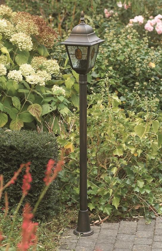 Mano - Venkovní osvětlení E27, 18cm (bronzová patina)