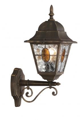 Mano - Venkovní osvětlení E27, 18x45x26 (bronzová patina)