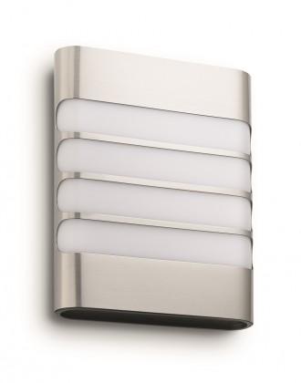 Mano - Venkovní osvětlení LED, 16,18x20,46x6,6 (nerez)