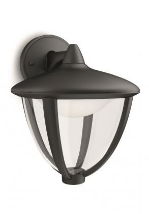 Mano - Venkovní osvětlení LED, 17,4x23x20 (černá)