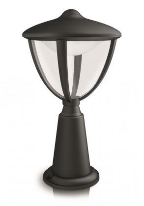 Mano - Venkovní osvětlení LED, 17,4x33,5x17,4 (černá)