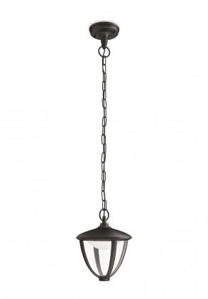 Mano - Venkovní osvětlení LED, 17,4x87,2x17,4 (černá)