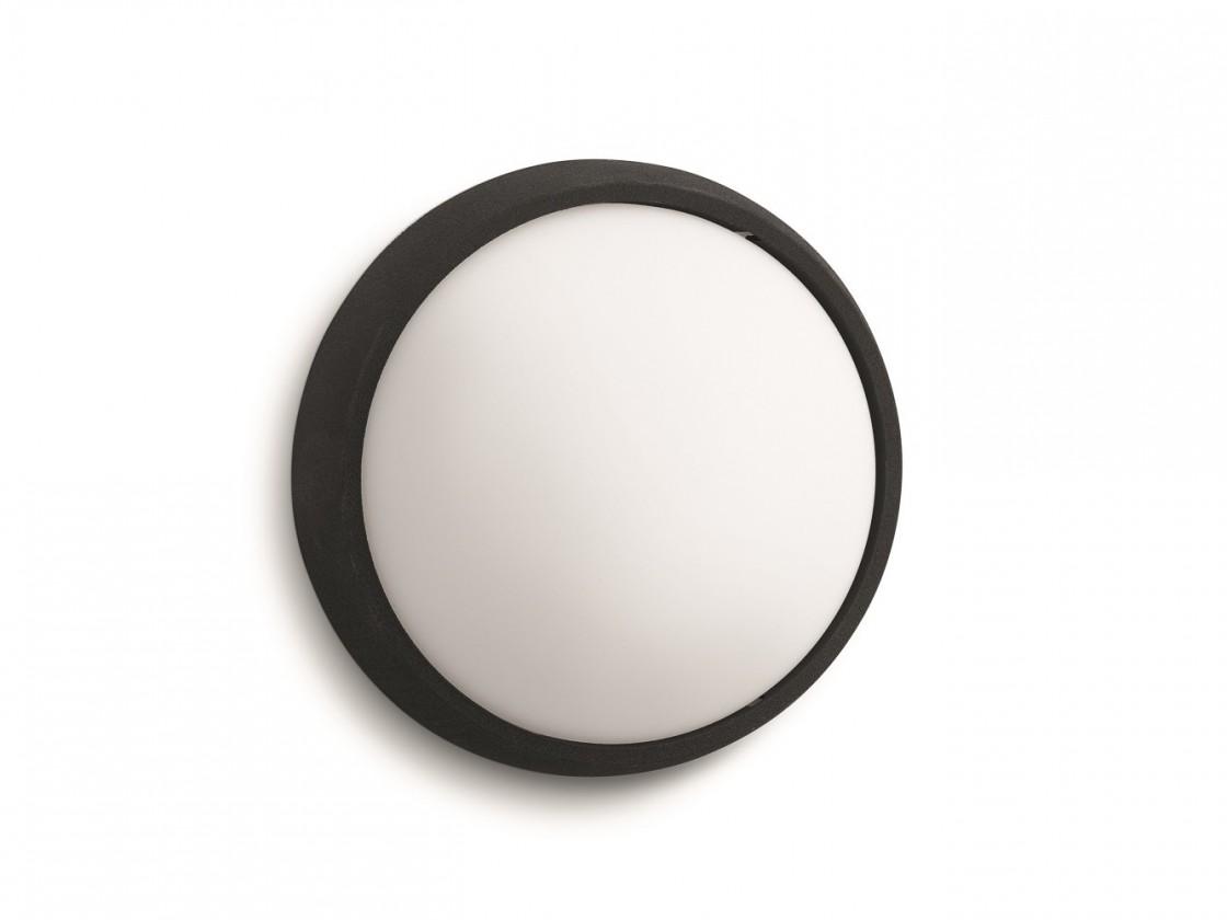 Mano - Venkovní osvětlení LED, 17x17x7,4 (černá)