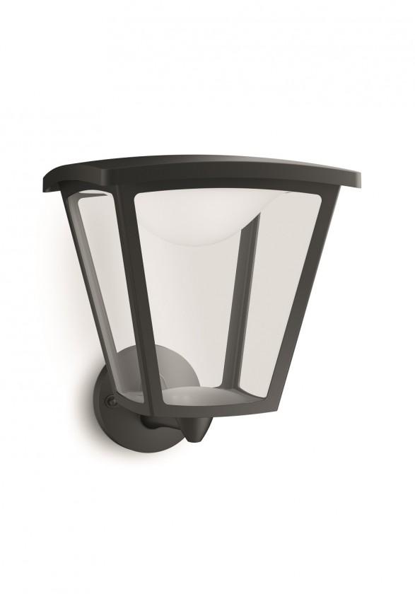 Mano - Venkovní osvětlení LED, 21,9x26,5x25 (černá)