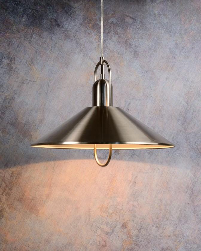 Marco - stropní osvětlení, 20W, E14 (stříbrná)