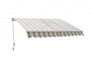 Markýza 4x2,5m s krytem 318 (pruhy béžová, růžové)