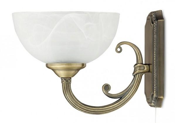 Marlene - Nástěnné osvětlení, 8541 (bronzová/bílá alabastrová)