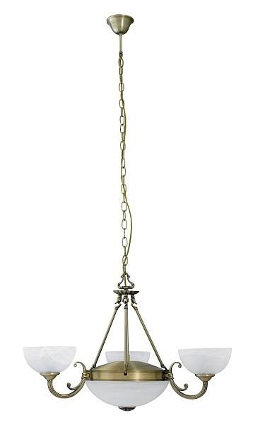 Marlene - Stropní osvětlení, 8543 (bronzová/bílá alabastrová)