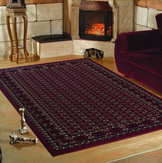 Marrakesh - koberec, 150x80cm (100%PP heatset, orient, červená)