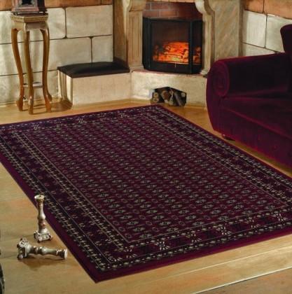 Marrakesh - koberec, 170x120cm (100%PP heatset, orient, červená)