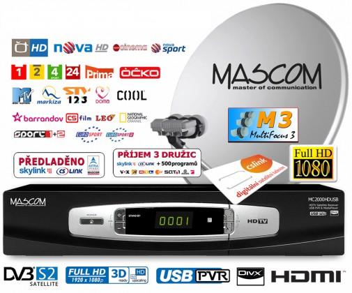 Mascom S-2000UCR/80M3+G