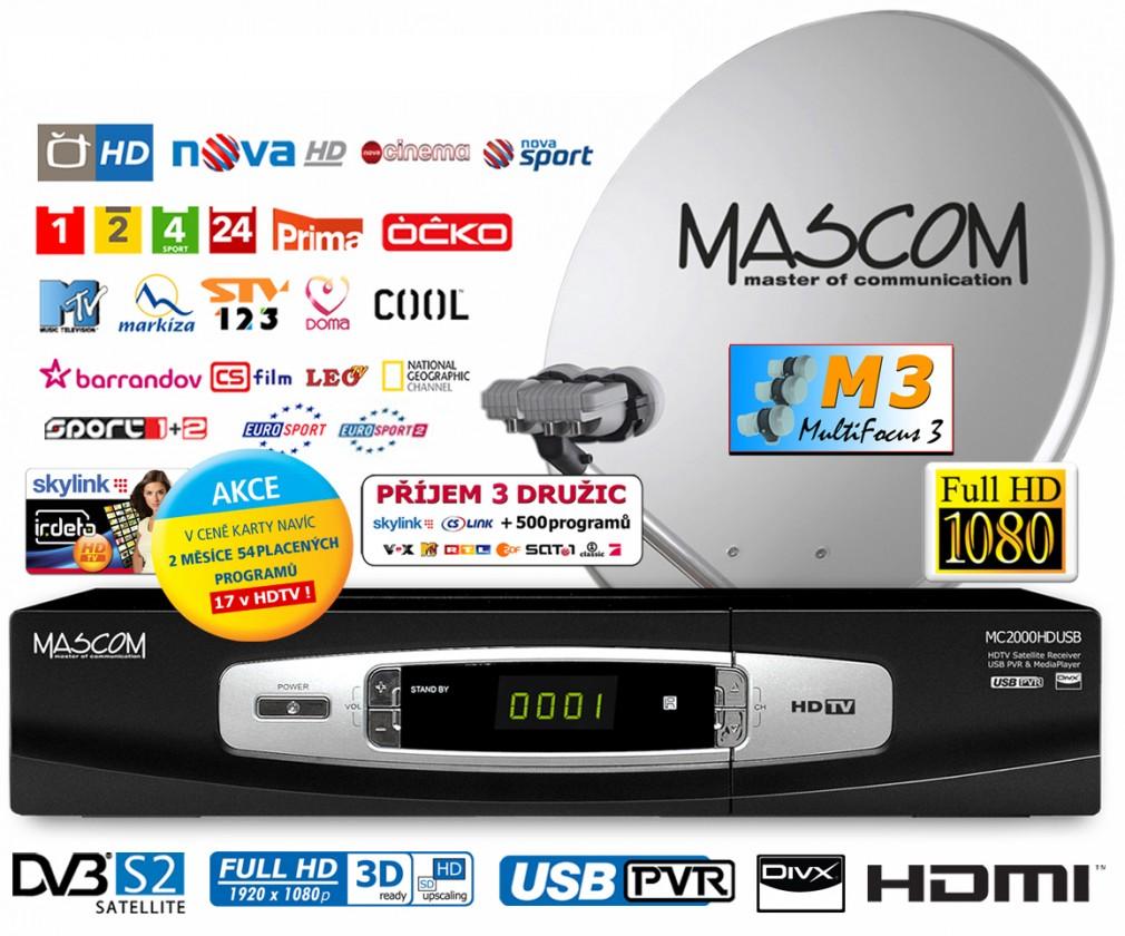 Mascom S-2000UCR/80M3+IH