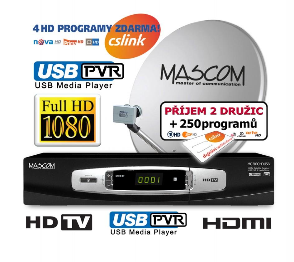 Mascom S-2000UCR/80MBL+G