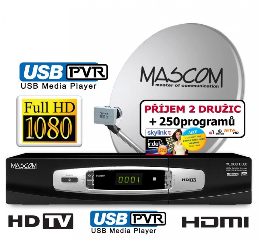 Mascom S-2000UCR/80MBL+IH