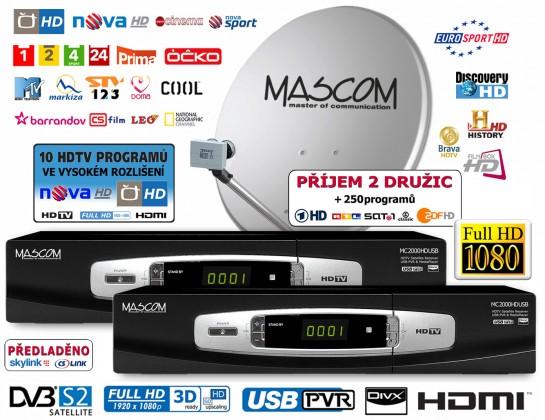 Mascom S-2000UCR/80MBL-T