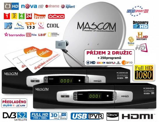 Mascom S-2000UCR/80MBL-T+G