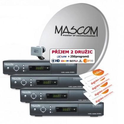 Mascom S-2600/80MBL-Q+G