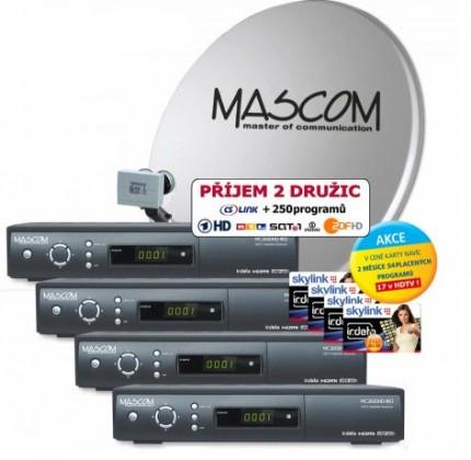 Mascom S-2600/80MBL-Q+IH