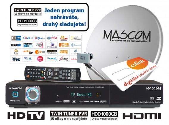 Mascom S-5300/80MBLT+IH