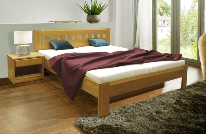 Masivní Camira Lux - rám postele 200x180