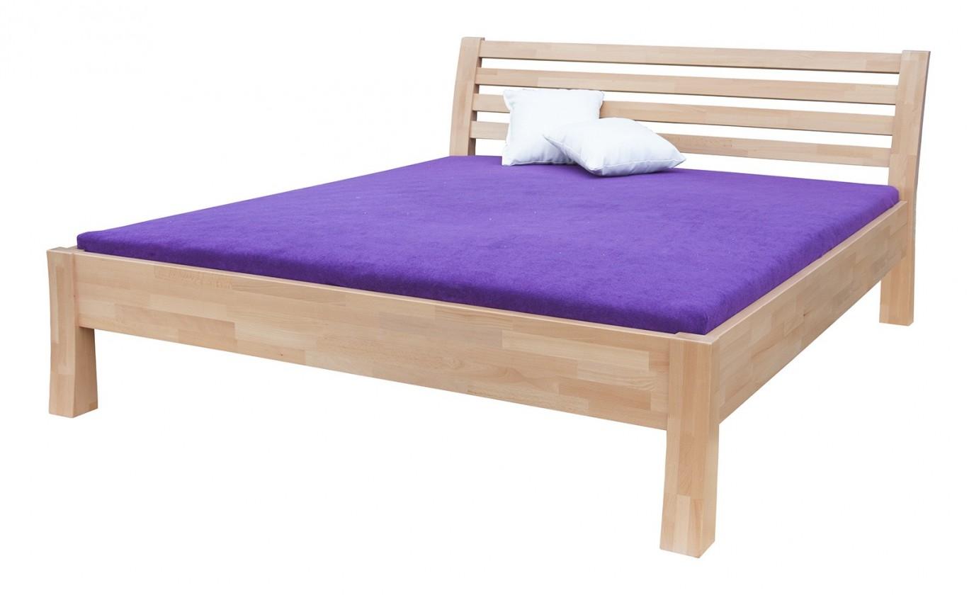 Masivní Carla - rám postele (rozměr ložné plochy - 200x120)