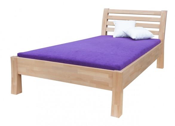Masivní Carla - rám postele (rozměr ložné plochy - 200x90)