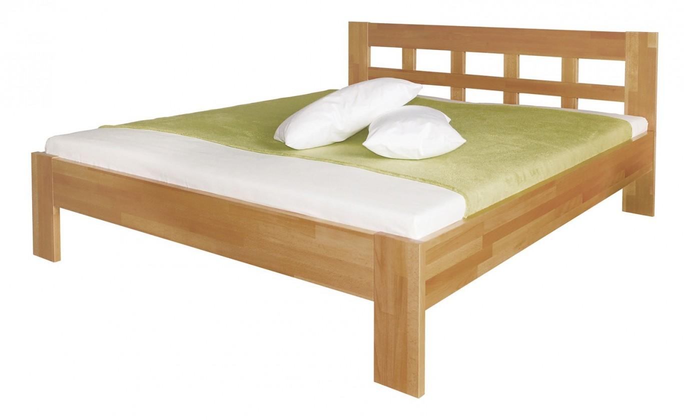 Masivní Delana - rám postele (rozměr ložné plochy - 200x140)