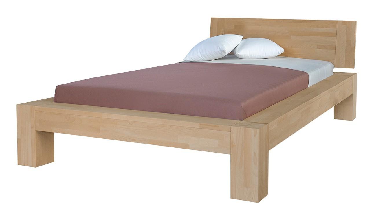 Masivní Esta - rám postele (rozměr ložné plochy - 200x100)