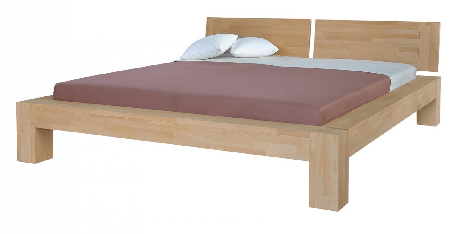 Masivní Esta - rám postele (rozměr ložné plochy - 200x180)