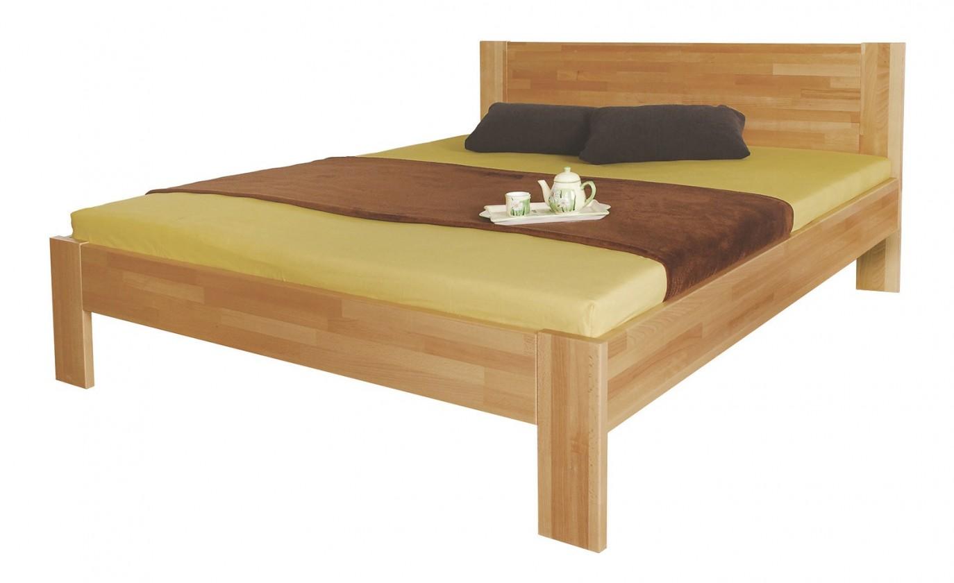 Masivní Gemma - rám postele (rozměr ložné plochy - 200x120)