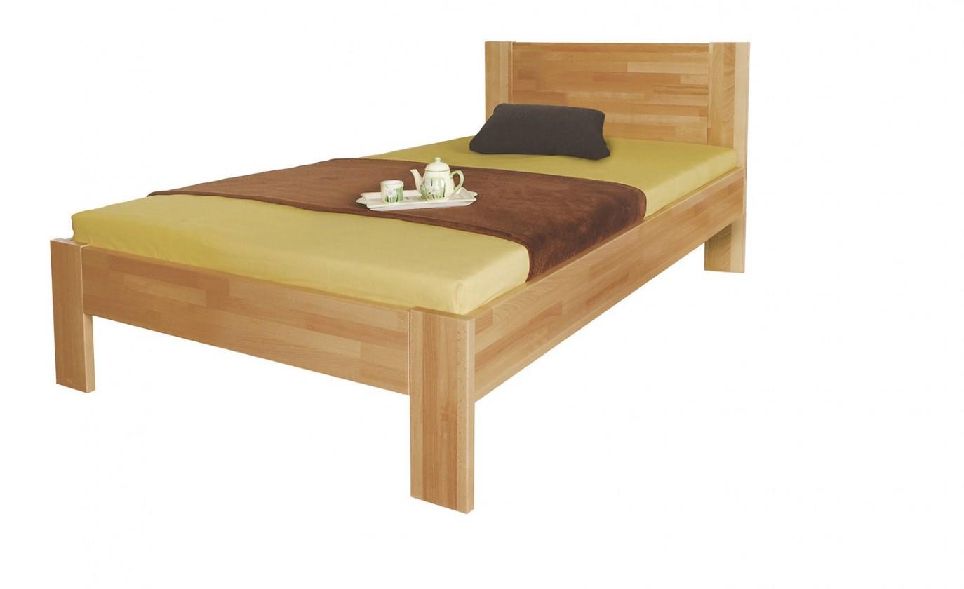 Masivní Gemma - rám postele (rozměr ložné plochy - 200x90)