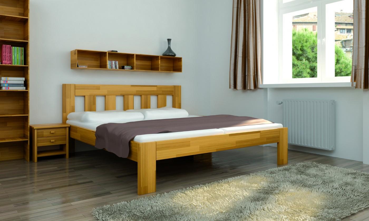Masivní Rám postele Pavla 180x200, smrk