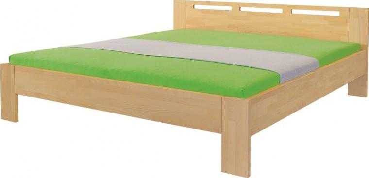 Masivní Rám postele Velia 160x200, masivní buk