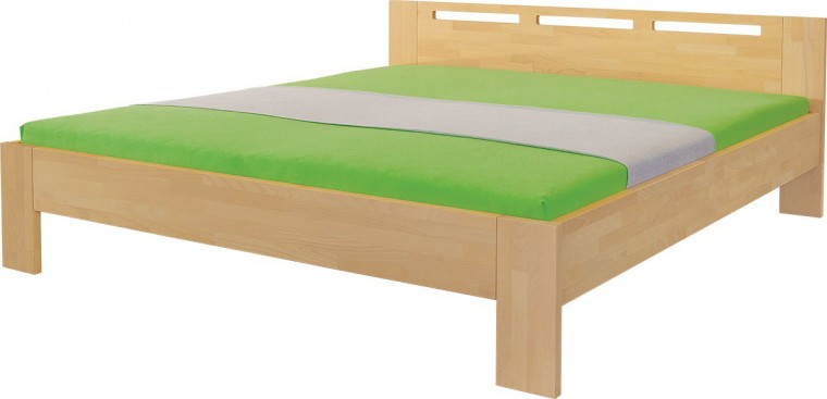 Masivní Rám postele Velia (rozměr ložné plochy - 140x200)