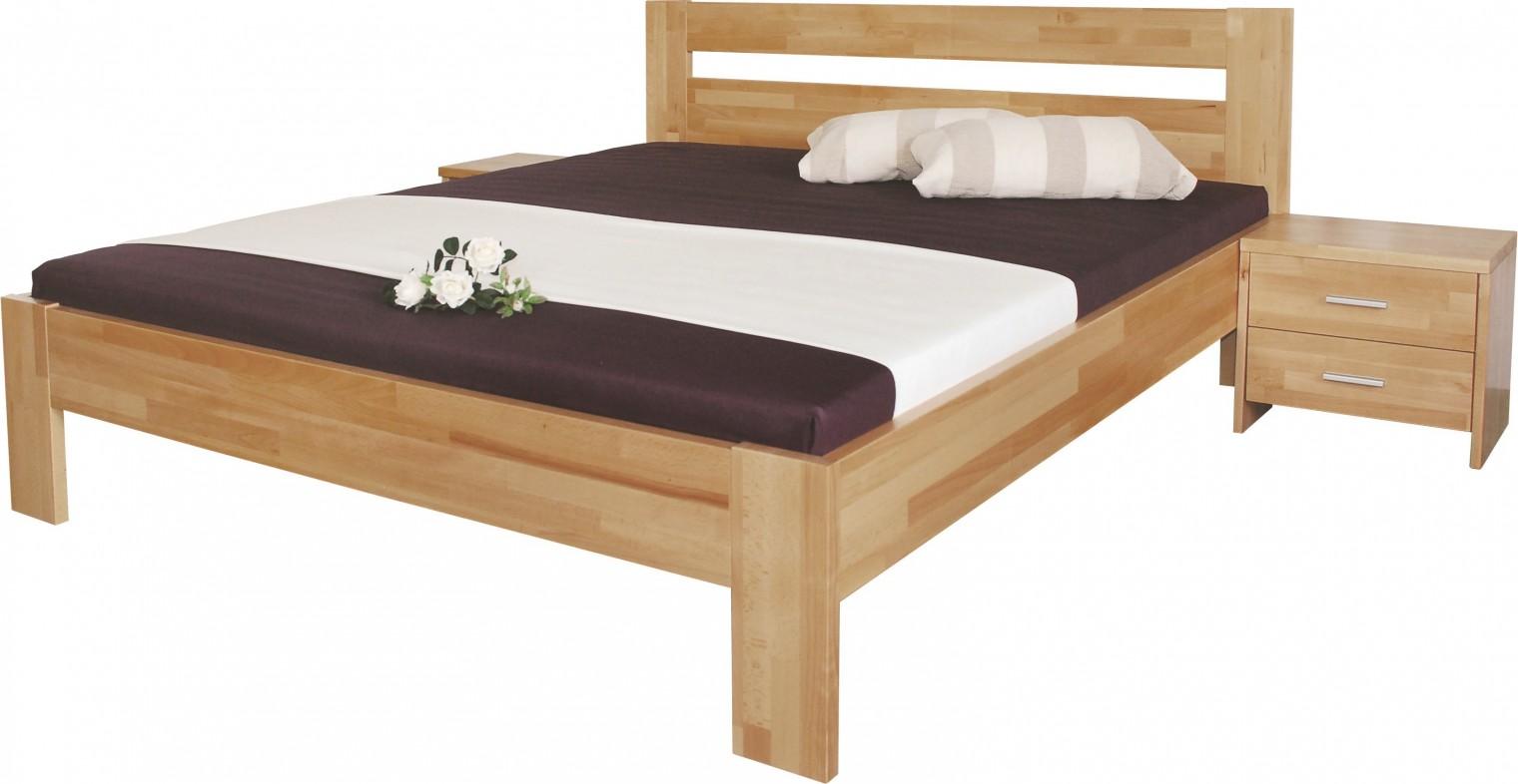 Masivní Rám postele Vitalia 180x200