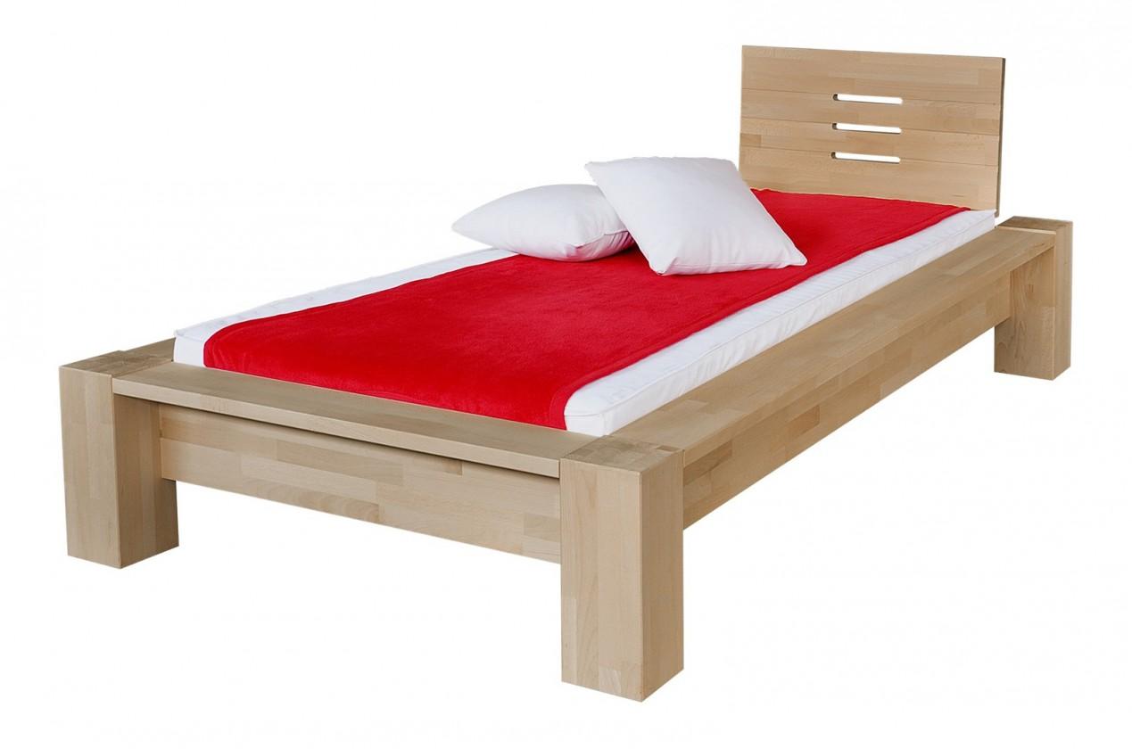 Masivní Savina - rám postele (rozměr ložné plochy - 200x100)
