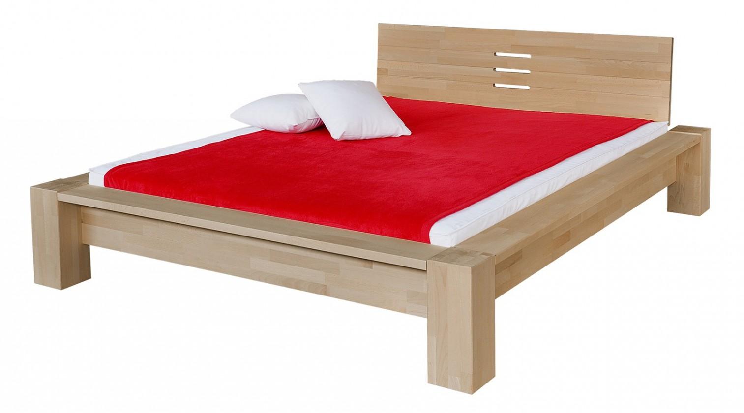 Masivní Savina - rám postele (rozměr ložné plochy - 200x120)