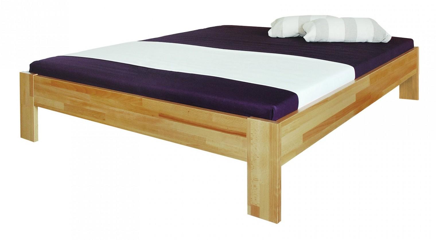 Masivní Uni - rám postele (rozměr ložné plochy - 200x160)