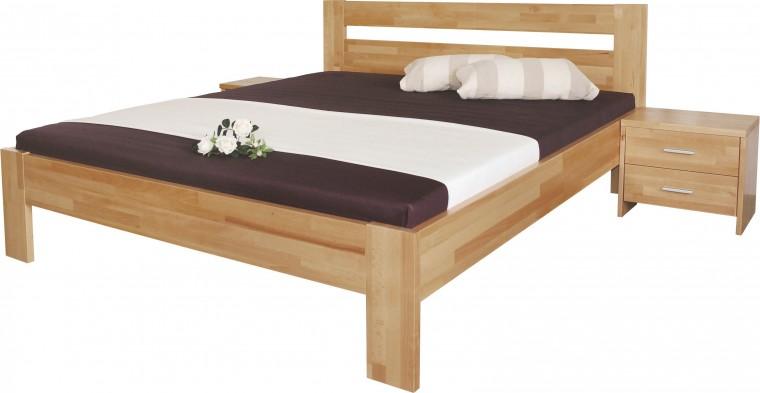 Masivní Vitalia - rám postele 200x100