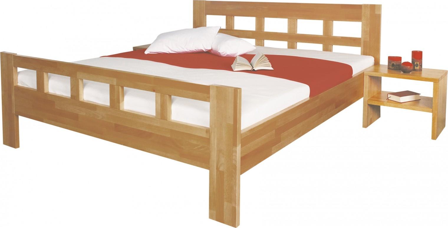 Masivní Viviana - rám postele 200x140