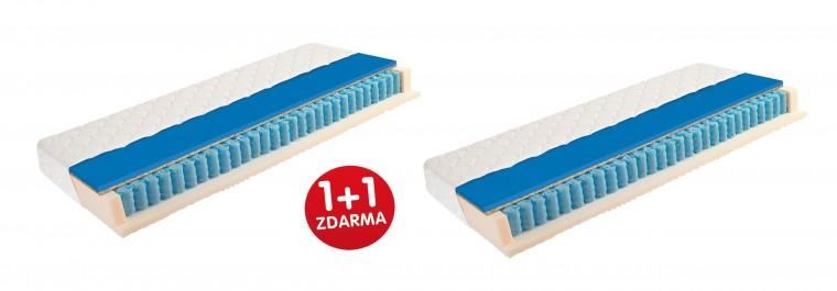 Matrace 1+1 Matrace Eliza Cool 1+1 (90x200x26 cm)