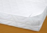 Matracový chránič Bella - 90x200 (bílá)